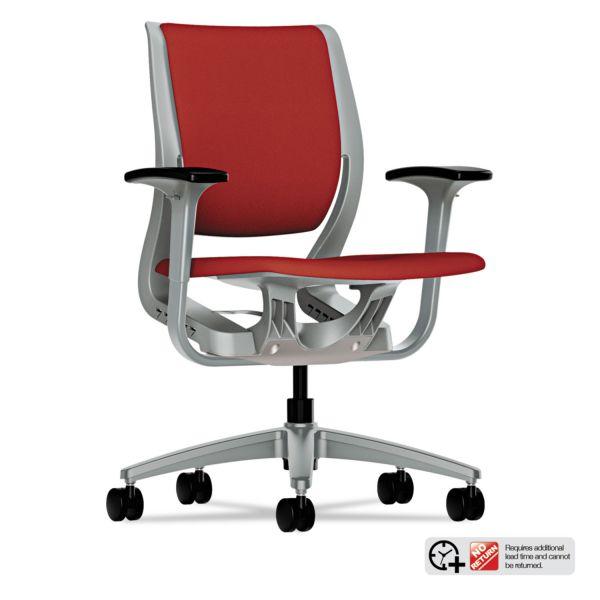 HON Purpose Series Mid-back Task Chair w Adjustable Arms