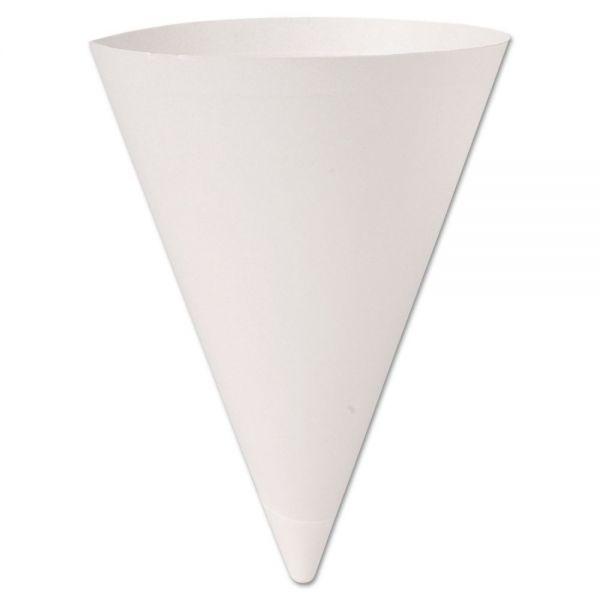 SOLO Cup Company Bare Treated 7 oz Cone Water Cups