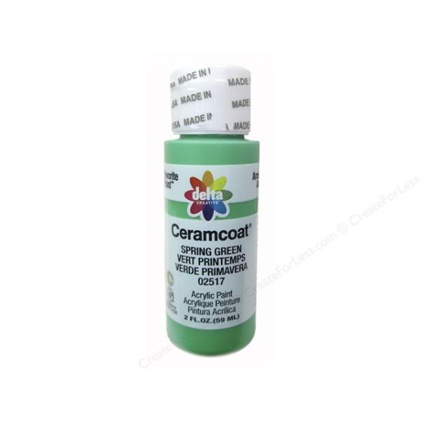 Ceramcoat Spring Green Acrylic Paint