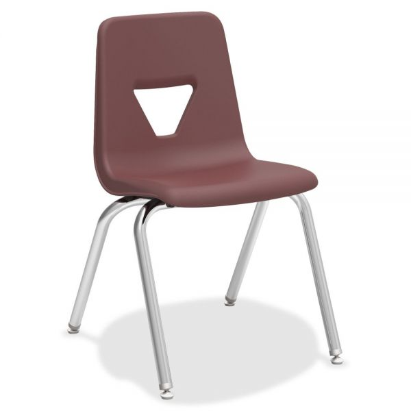 Lorell Plastic Stacking Student Chairs