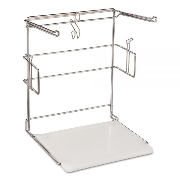 Barnes Paper Company T-Sack Rack for 1/6 Plastic Bags