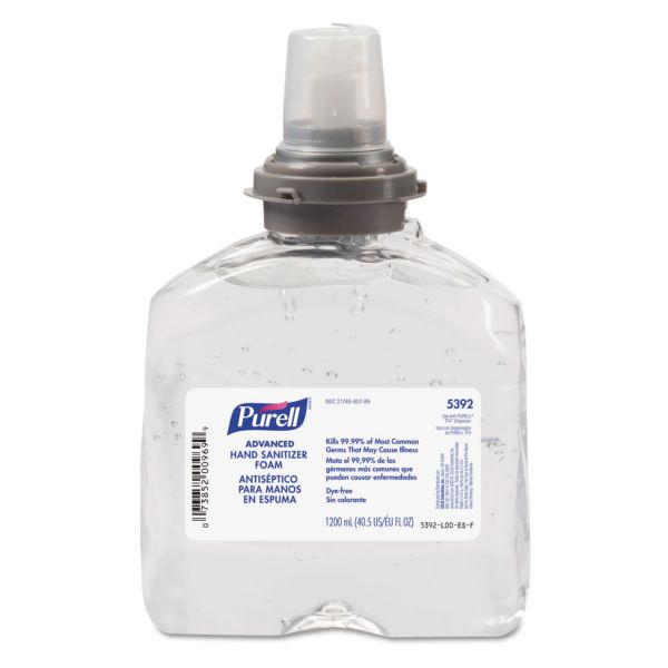 Purell Advanced Gel Instant Hand Sanitizer Refill
