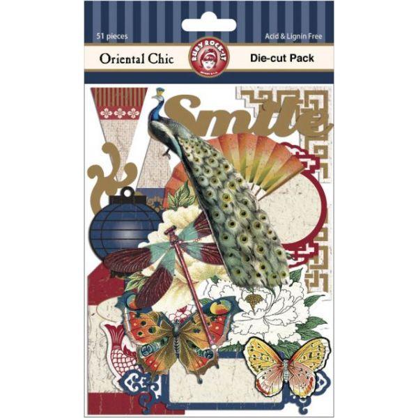 Oriental Chic Die-Cuts 51/Pkg