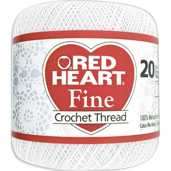 Red Heart Fine Crochet Thread