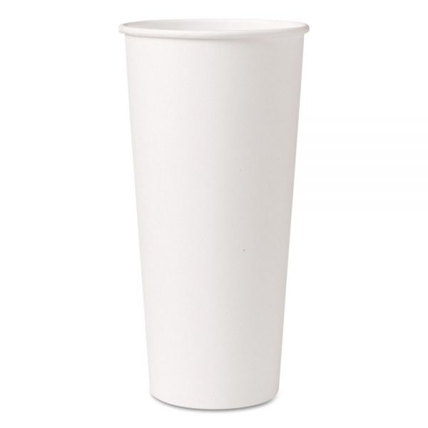 SOLO Cup Company Single-Sided Poly 24 oz Coffee Cups