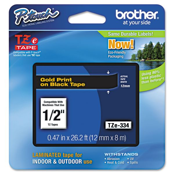 Brother P-Touch TZ Standard Label Tape Cartridge