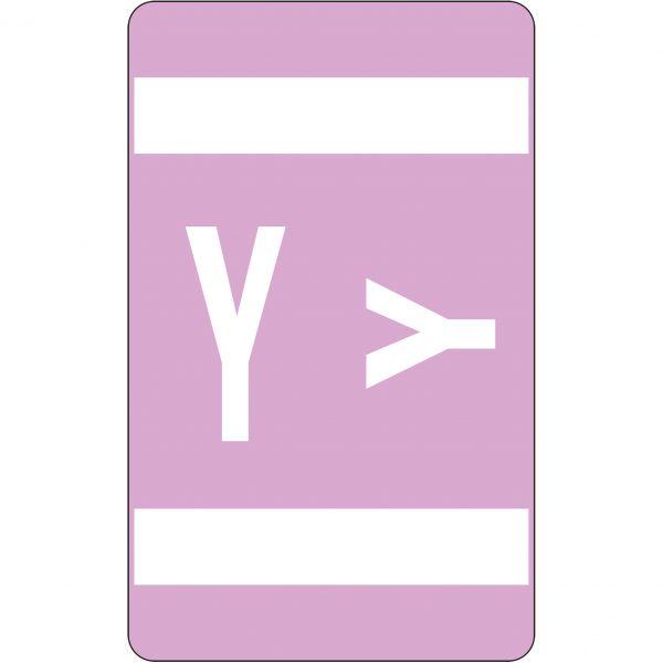 Smead AlphaZ ACCS Color-Coded Alphabetic Label - Y