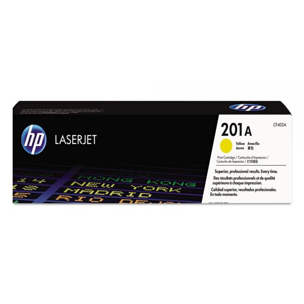 HP 201A Yellow Toner Cartridge (CF402A)