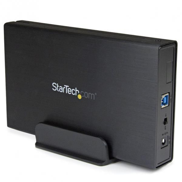 "StarTech.com USB 3.1 (10Gbps) Enclosure for 3.5"" SATA Drives - Supports SATA 6 Gbps"
