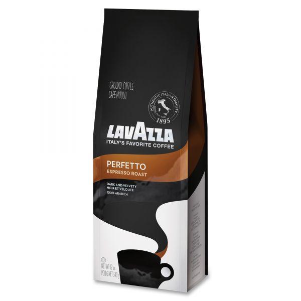 Lavazza Perfetto Espresso Roast Ground Coffee (3/4 lb)