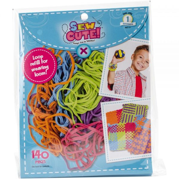 Sew Cute! Loom Loop Refill Kit