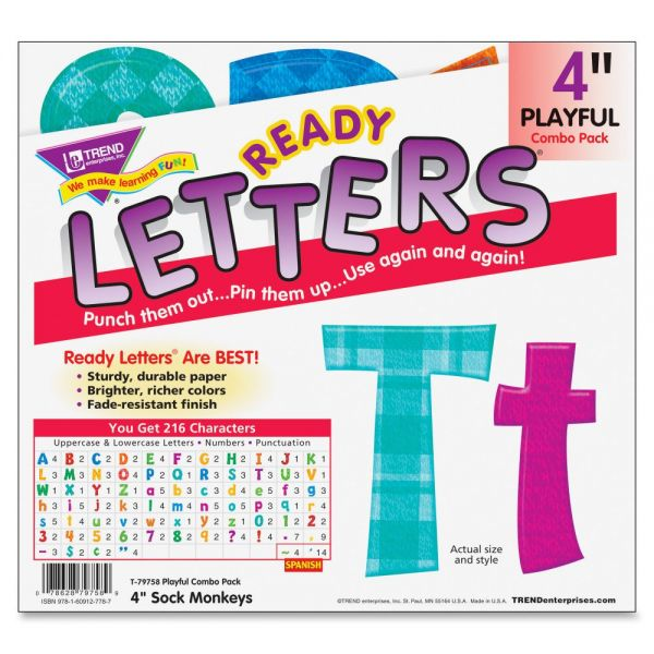 Trend Playful Combo Uppercase/Lowercase Ready Letters