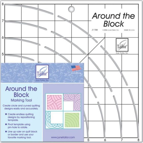 Around The Block Ruler
