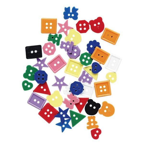 Creativity Street Plastic Buttons