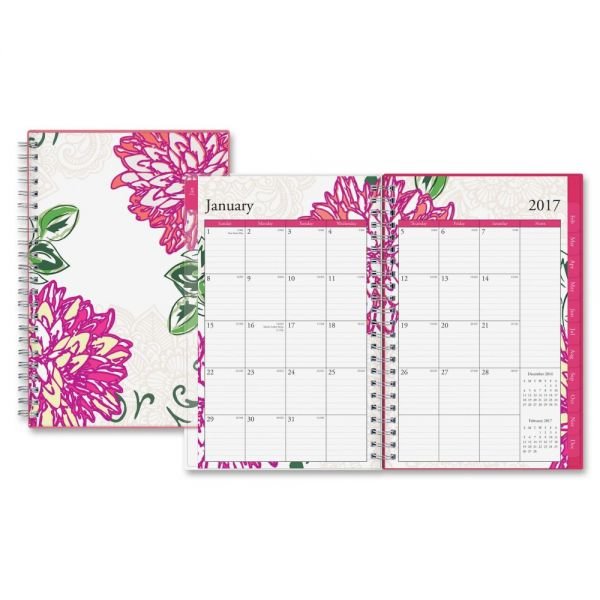 Blue Sky Dahlia Weekly/Monthly Planner