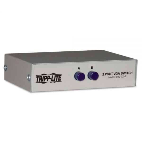 Tripp Lite VGA Switch, Two Position, Manual