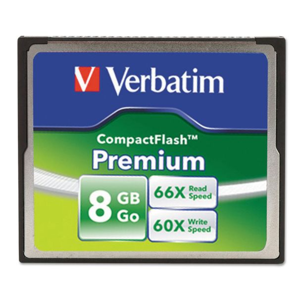 Verbatim Premium 8GB Compact Flash Memory Card
