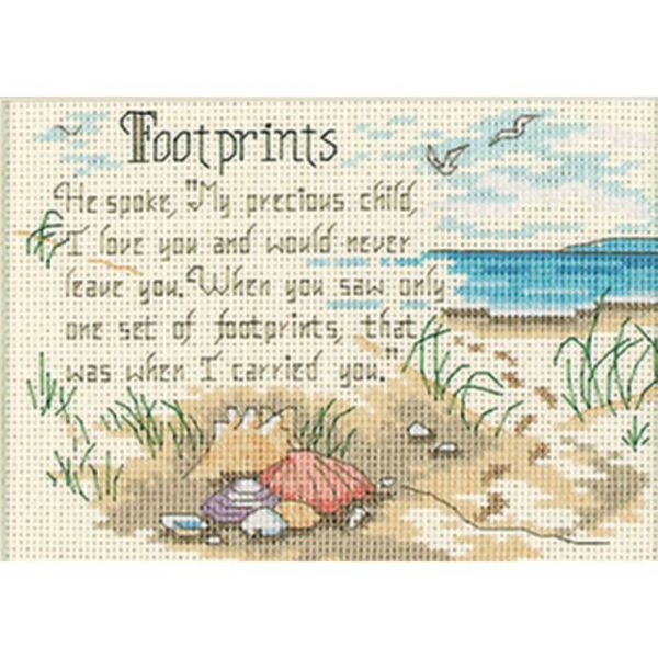 Dimensions Jiffy He Spoke Counted Cross Stitch Kit