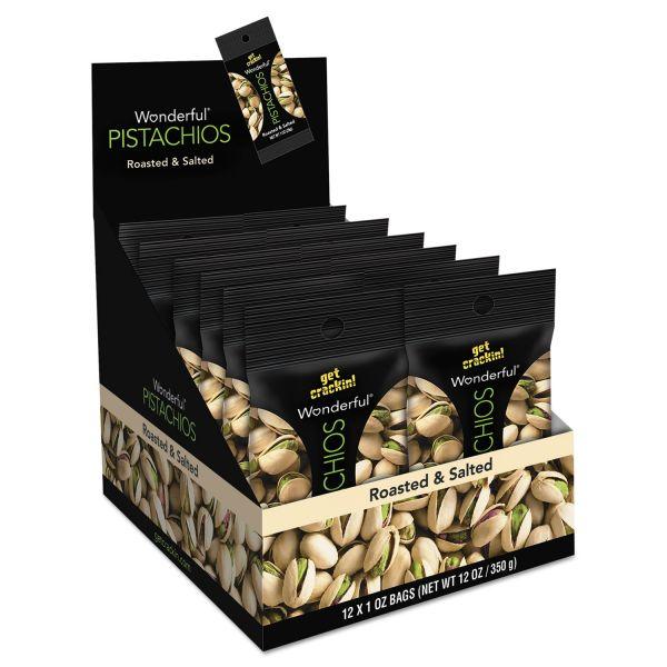 Wonderful Roasted & Salted Shelled Pistachios
