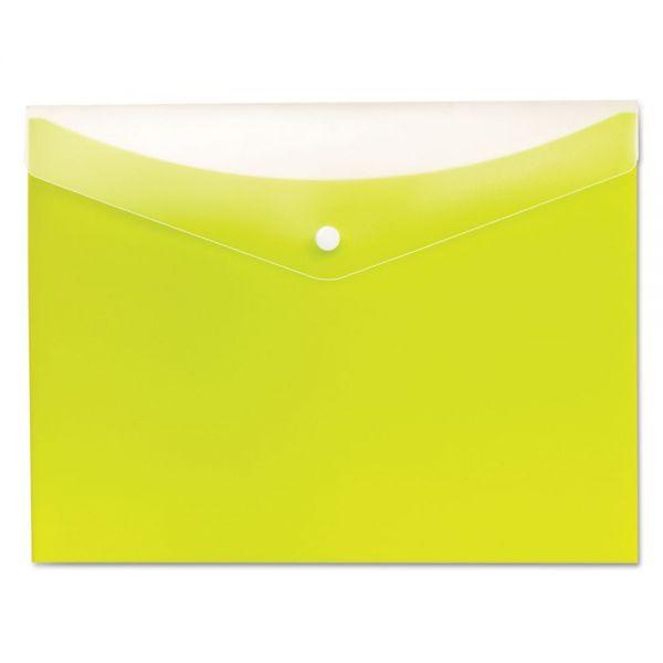 Globe-Weis Poly Snap Envelope
