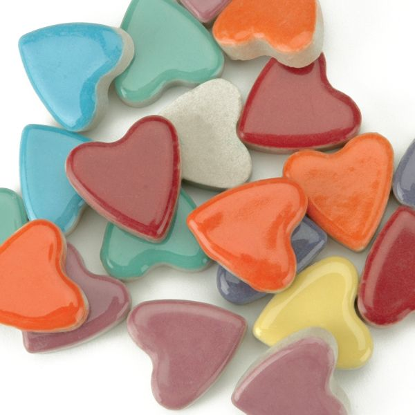 Mosaic Tiles Hearts 12oz Value Pack
