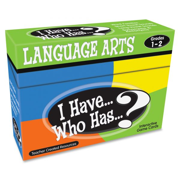 Teacher Created Resources I Have Who Has Game, Grades 1-2, Class Play, 37 Cards/Game, 148/Box