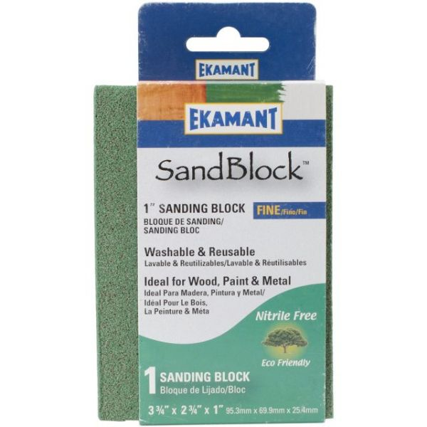 "Eco Green Sand Block 3.75""X2.75""X1"""