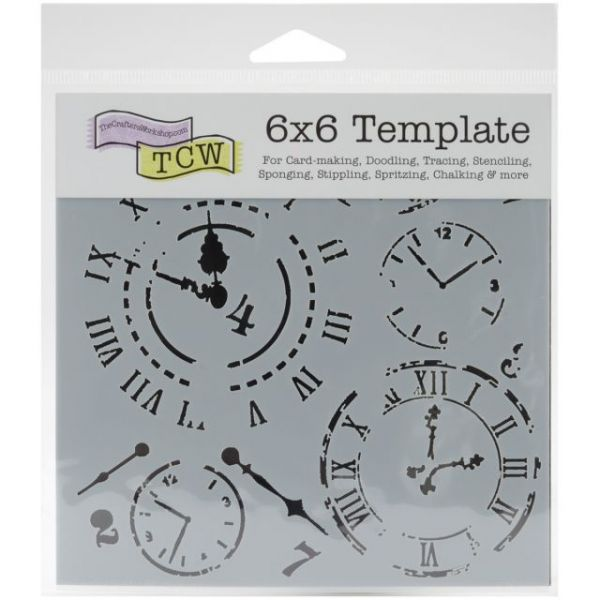 """Crafter's Workshop Template 6""""X6"""""""