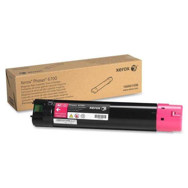 Xerox 106R01508 Magenta High Yield Toner Cartridge