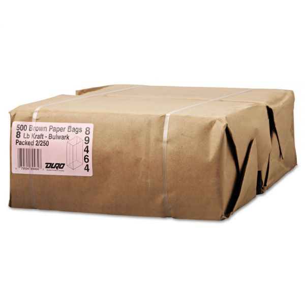 General #8 Extra Heavy-Duty Brown Paper Grocery Bags