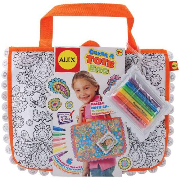 ALEX Toys Color A Tote Bag Kit