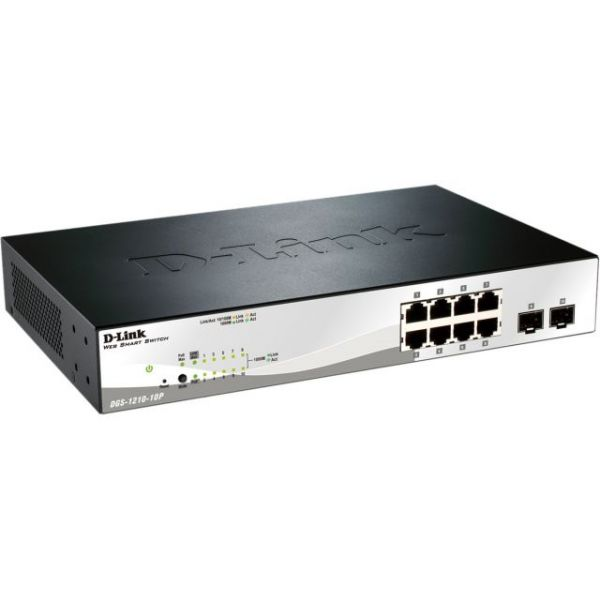 D-Link DGS-1210-10P Web Smart Switch