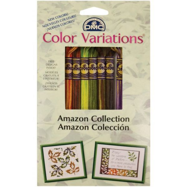 DMC Color Variations Floss Pack 8.7yd 8/Pkg
