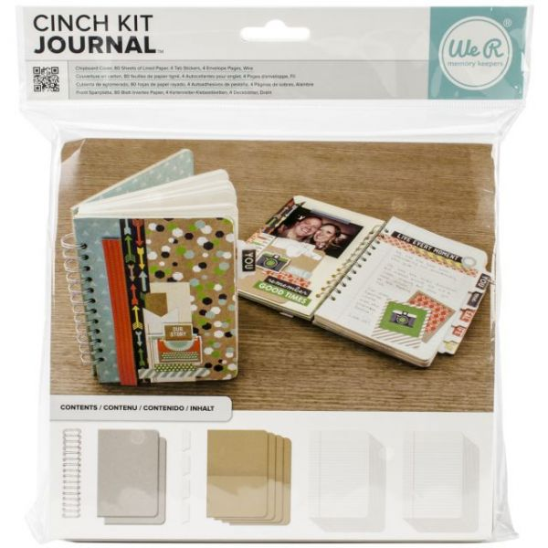 "Cinch Journal Kit 8""X9"""