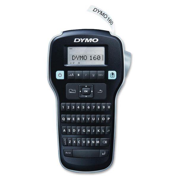 DYMO LabelManager 160P, 2 Lines, 7 9/10w x 4 13/20d x 1 9/10h