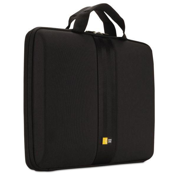 "Case Logic Laptop Sleeve for 13"" Chromebook or Laptops, 14 1/4 x 1 7/8 x 11, Black"