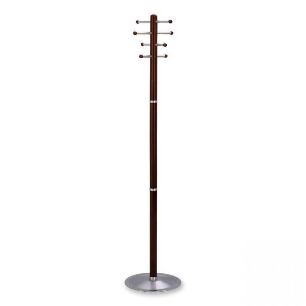 Safco Free-Standing Wood Coat Rack