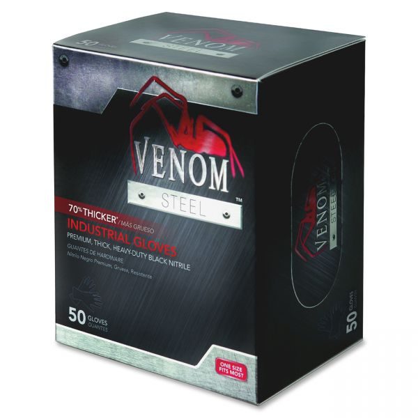 Venom Steel Industrial Nitrile Work Gloves