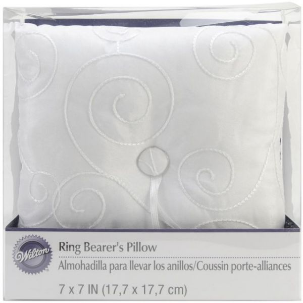 "Wedding Ring Pillow 7""X7"""
