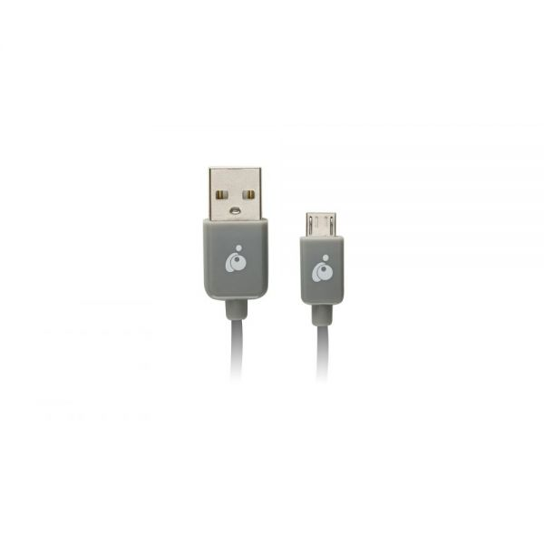 Iogear Charge & Sync Cable, 6.5ft (2m) - USB to Micro USB Cable