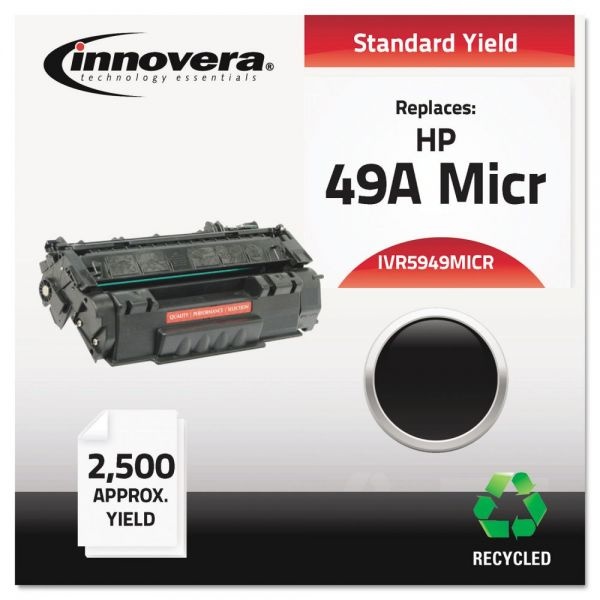 Innovera Remanufactured HP 49A (Q5949A) MICR Toner Cartridge