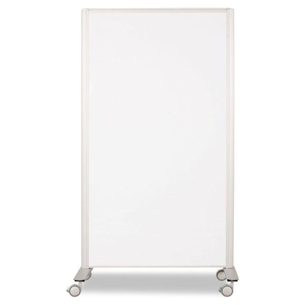 Best-Rite Lumina Room Dividers, 39-1/2w x 71 3/4h, Aluminum