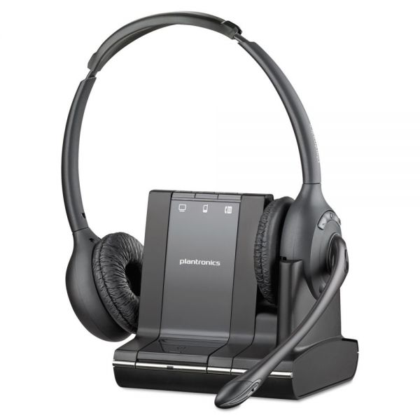 Plantronics Savi 720 Binaural Over-the-Head Headset