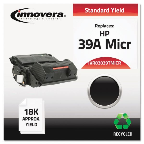 Innovera Remanufactured HP 39A (Q1339A) Micr Toner Cartridge