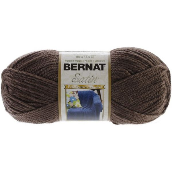 Bernat Satin Yarn - Taupe