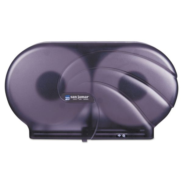 San Jamar Oceans Twin Toilet Tissue Dispenser