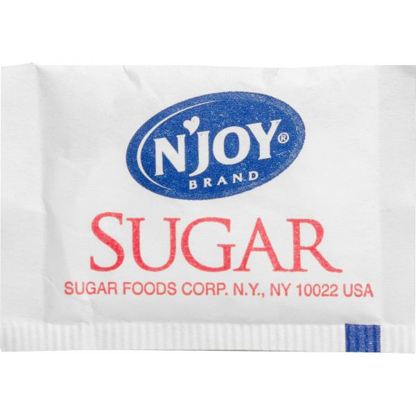 N'Joy Pure Cane Sugar Packets