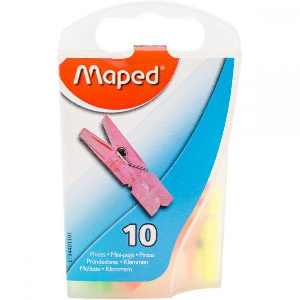 Mini Clothespin Clips 10/Pkg