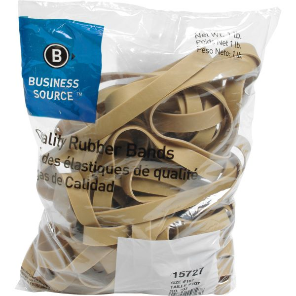 Business Source #107 Rubber Bands