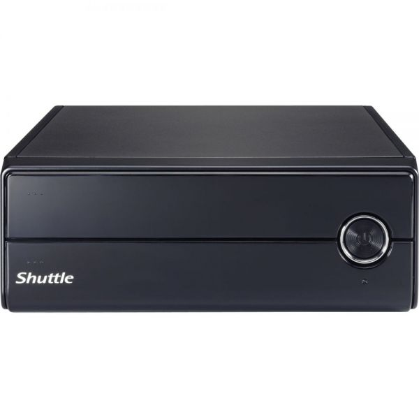 Shuttle XPC XH110V Barebone System Slim PC - Intel H110 Chipset - Socket H4 LGA-1151 - 1 x Processor Support - Black